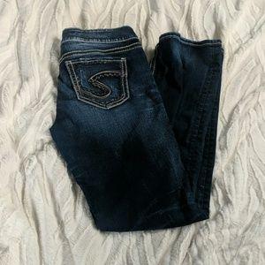 Silver Suki Jeans Mid-Straight EUC
